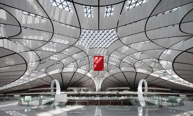 Photo: Daxing Airport Terminal, Beijing, by Scott Chu