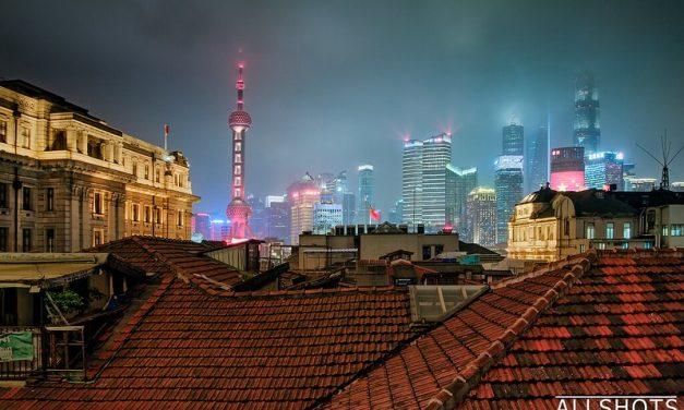 Photo: Shanghai From a Window in the Hostel, by Marek