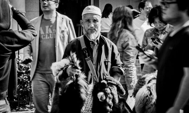 Photo: The fur seller, by Lezlie