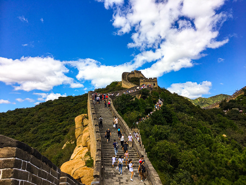 Photo: Badaling Great Wall, by cattan2011