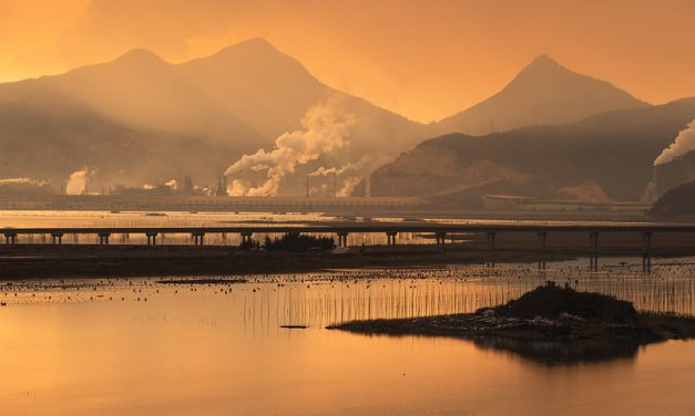 Photo: A Sky on Fire – Sunset in Xiapu, by Alex Berger