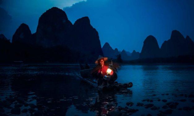 Photo: Li River Fisherman, by Rod Waddington