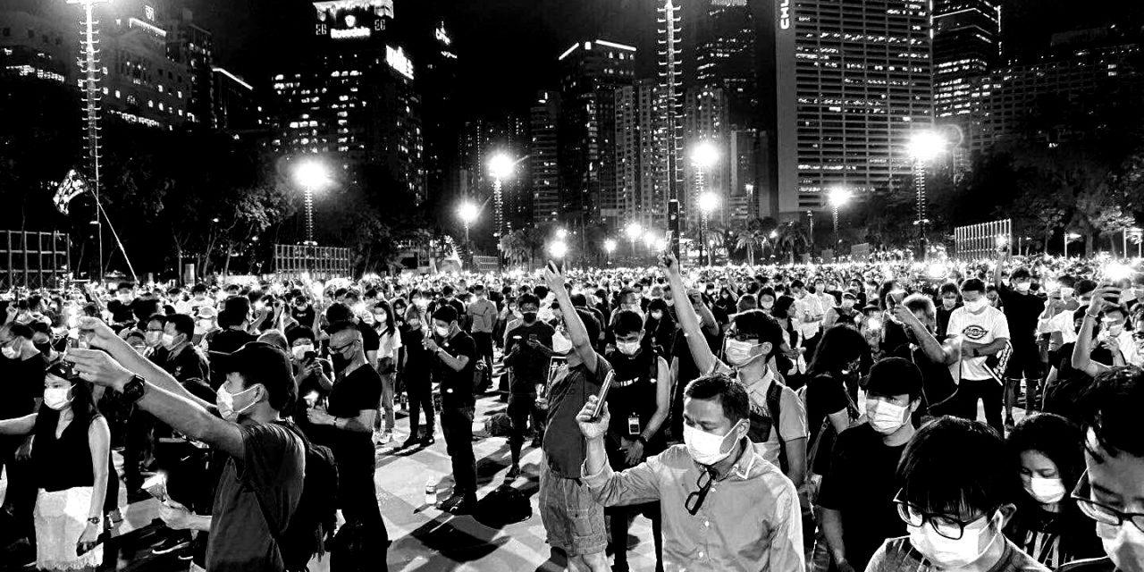 2020年6月4日,香港维园