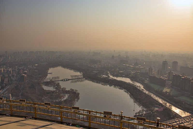 Photo: Beijing from Central Radio & TV Tower, by Eric Jiang