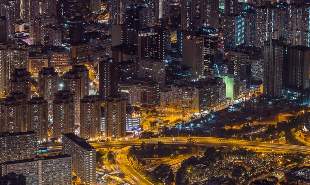 Photo: Urban night in Hong Kong, by inkelv1122