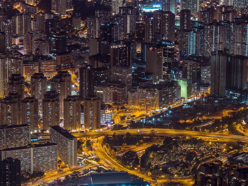 Photo: Urban night in Hong Kong, by inkelv1122