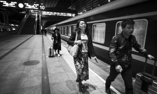 Photo: Platform, Beijing West Station, by vhines200