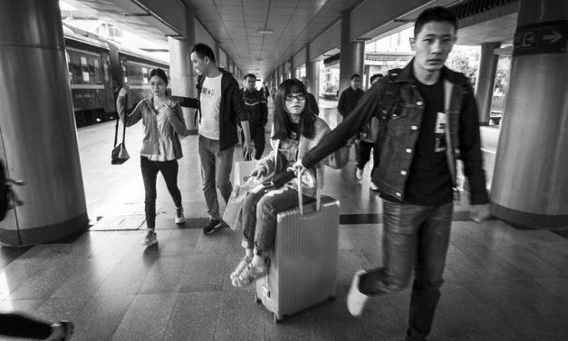 Photo: Platform, Xi'an Station, by vhines200