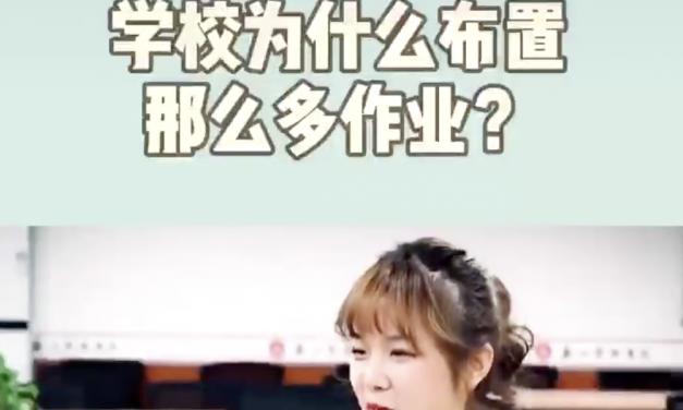 【CDTV】中国学校为什么布置那么多作业?