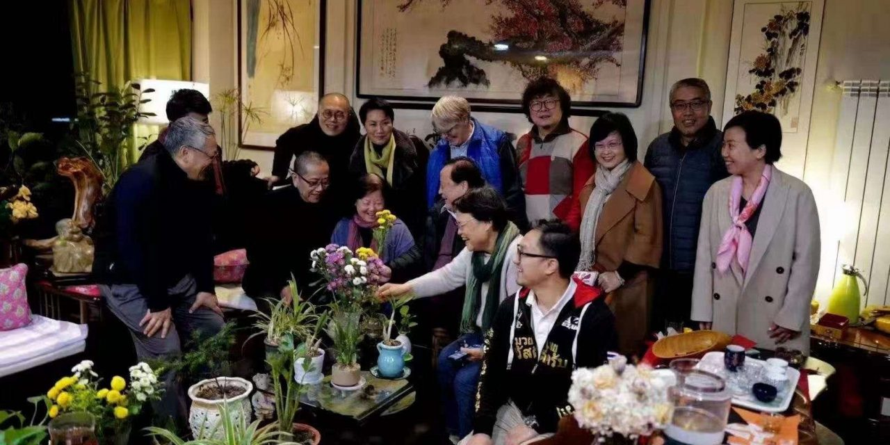 【众人推】陈丹青,梁文道,艾晓明等人在武汉与方方聚会