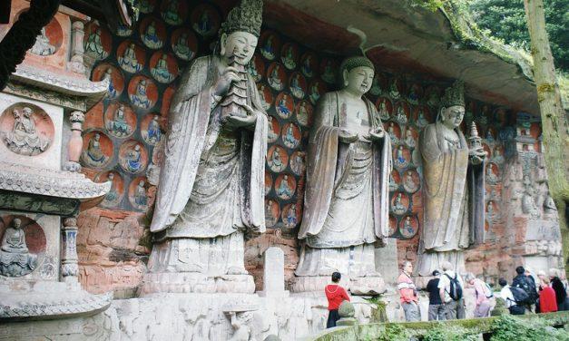 Photo: Baodingshan Cliff Carvings, by Hugh Llewelyn