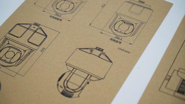 邓玉峰记录下了幸福大街上摄像头的品牌和型号。