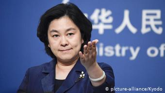 Außenministerium Sprecherin Hua Chunying China