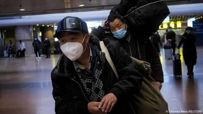 China, Peking I Wanderarbeiter sollen Reise zu Neujahr vermeiden