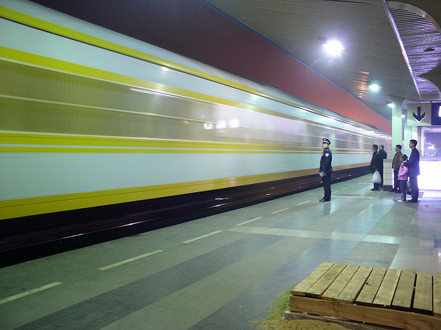 Train in Jinan (2005)