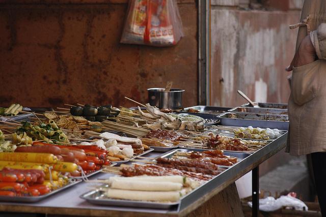 Snack vendor in Shenyang