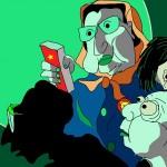 鳩鵪漫畫:万圣节系列:四只猛鬼