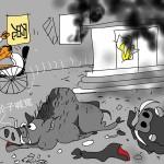 鳩鵪漫畫:有怨无处诉