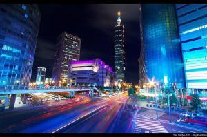 Rush hour in Taipei