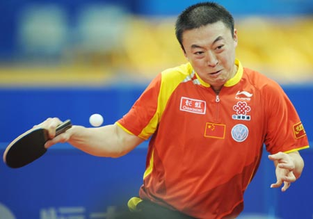 Asian ping pong player playing with their ping pongs - 2 2