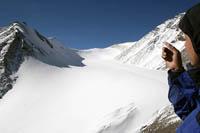 Xinjiang glacier