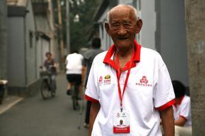 Olympics volunteer