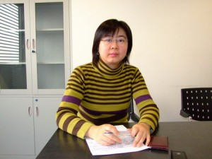 Professor Chang Miao Photo from China Daily