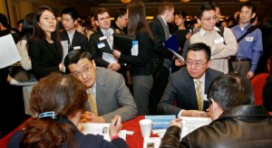 Representatives from Chinese banks recruit for senior-level talent in New York