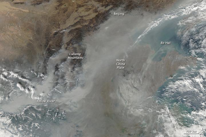 Afbeeldingsresultaat voor smog cloud in china