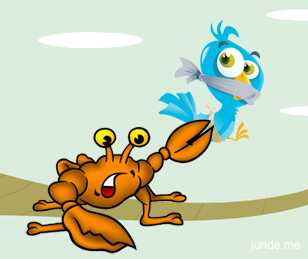 crab-and-twitter