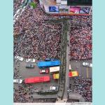 上海举行抗日大游行.002