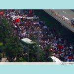 上海举行抗日大游行.003
