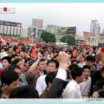 上海举行抗日大游行.008