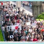 上海举行抗日大游行.013