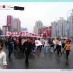 上海举行抗日大游行.033