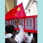 上海举行抗日大游行.036