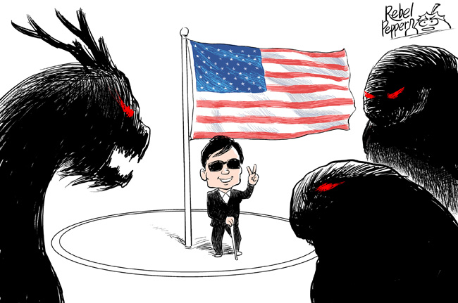 Chen Guangcheng, Jerome Cohen Recount Embassy Stay