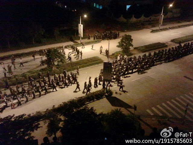 Riots in Guangdong Escalate, Overwhelm Shaxi
