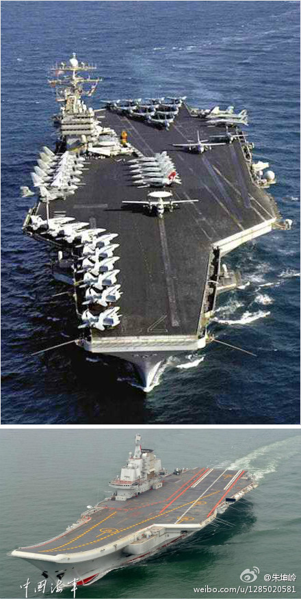 China's Aircraft Carrier and the Human Race