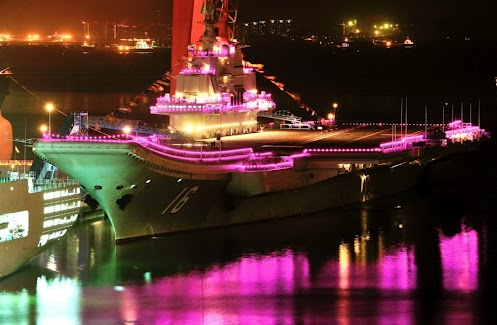 Food Stall? Night Club? No, It's the Aircraft Carrier!