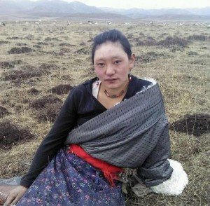 Tamding Tso, a 23-year-old mother who self-immolated on November 7.