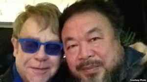 Elton John dedicated his Beijing concert to Ai Weiwei. News of a repeat performance in Guangdong was quashed.