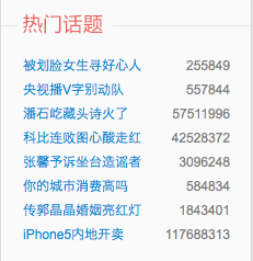"""CCTV airs V for Vendetta"" is the second-most discussed topic on Weibo right now."