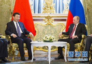 On Saturday March 23, Xi Jinping delivered a lecture at Moscow State Institute of International Relations. (Xinhua)