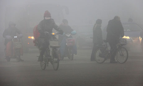 Xi'an Officials Detained for Altering Air Quality Data