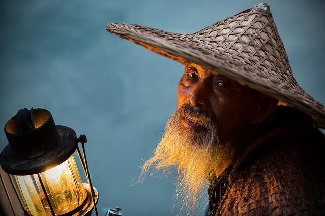 Fisherman on the Li