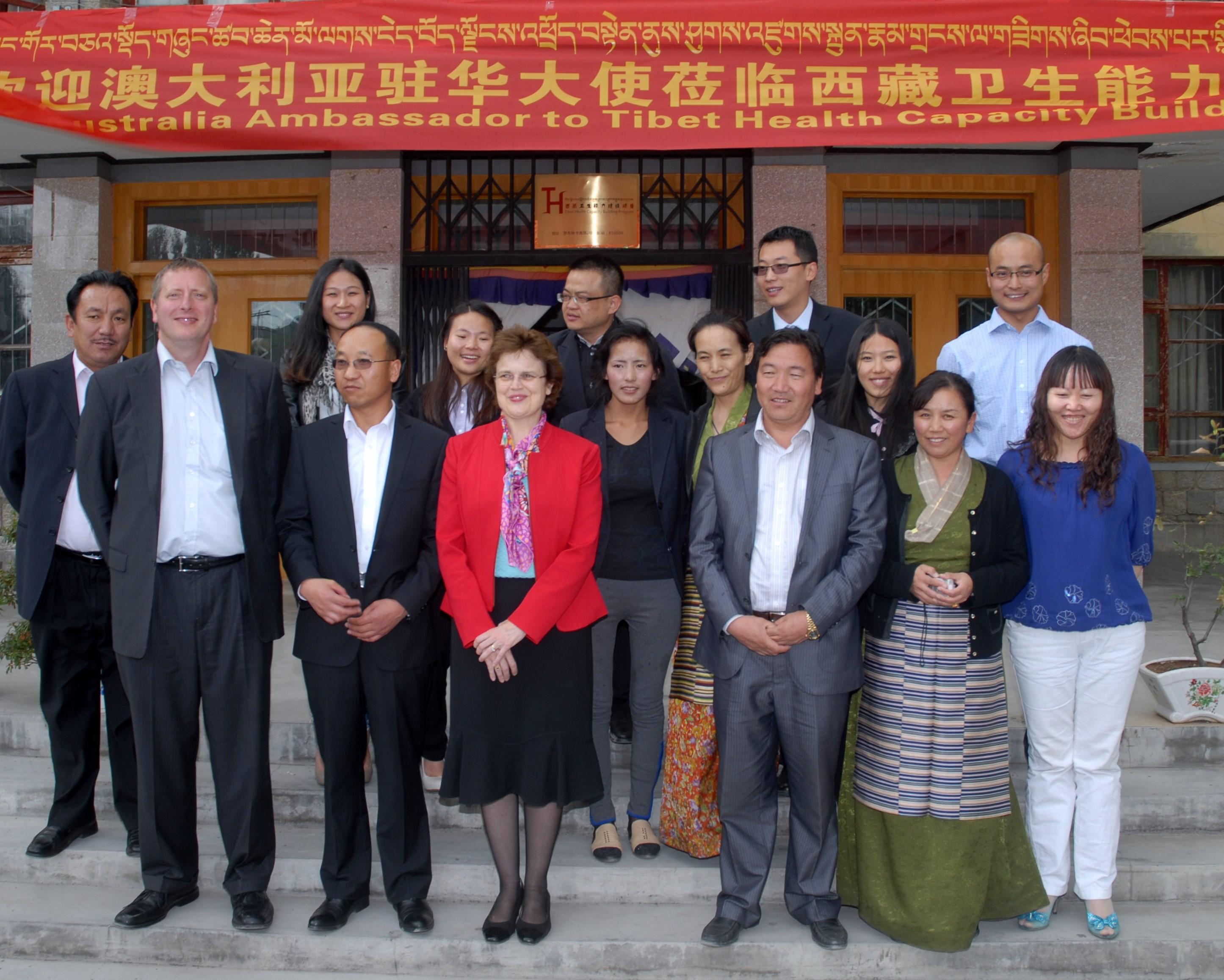 Australian Diplomat Granted Rare Tibet Visit