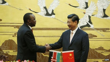 Kenyan President Signs $5 Billion Deals with China