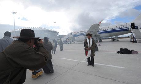 Shangri-La Boasts New Airport, Concerns
