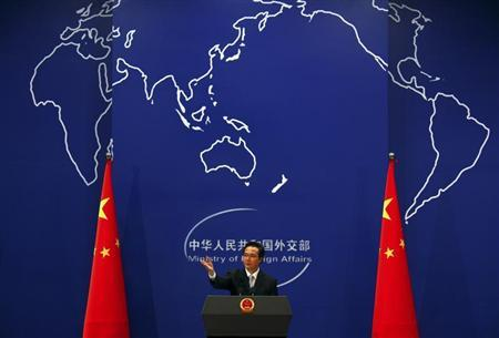 China Welcomes Proposal for Syria Weapons Handover